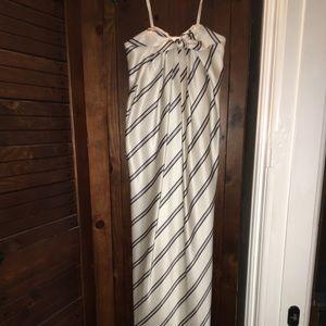 Halston Heritage strapless dress